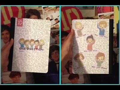 DIY One Direction Notebook!