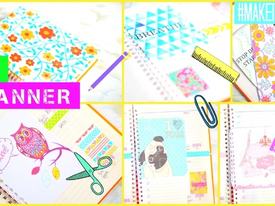 DIY Planner & Journal Cards | #MAKEITINMAY 2015