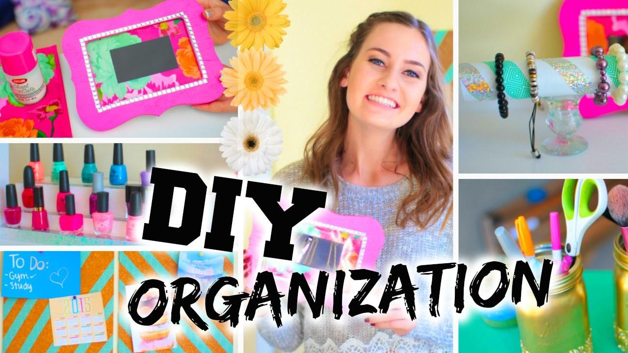 DIY Room Organization + Easy Ways to Organize!