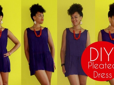 DIY SATC 2 Inspired Pleated Dress | Sewing For Beginners