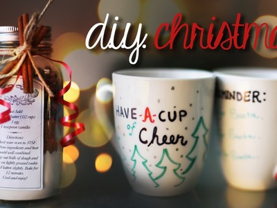 EASY & CHEAP DIY CHRISTMAS PRESENT IDEAS