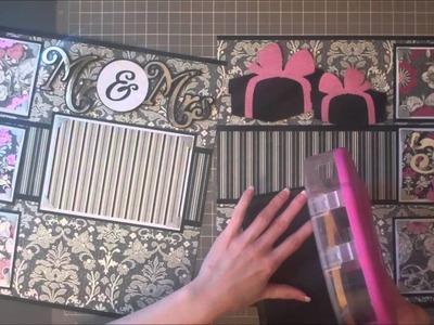 Faith Abigail Designs - Wedding Album Series: Celebrate Double Scrapbook Layout