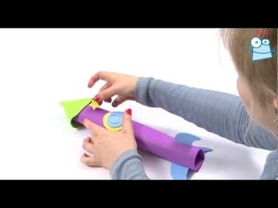How to craft a 3D foam rocket
