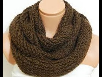 How To Knit An Infinity Scarf