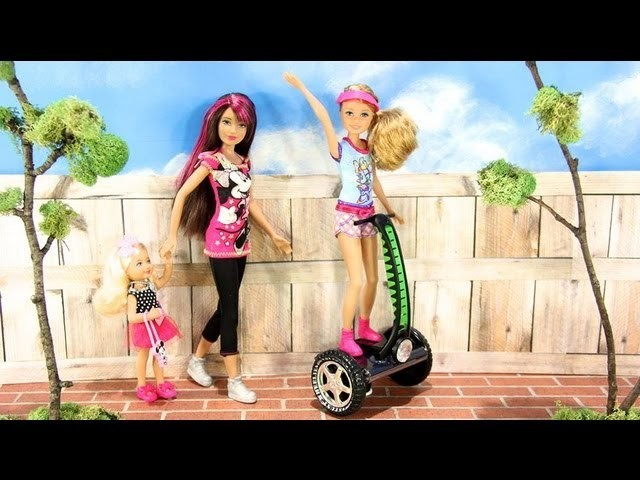 How to Make a Doll Segway - Doll Crafts