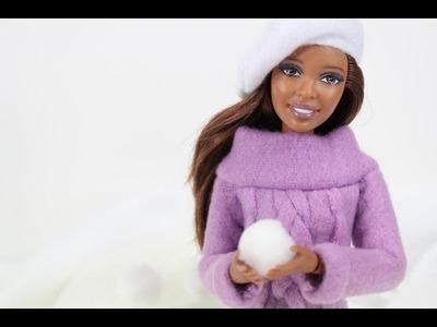 How to Make a Doll Sweater - Doll Crafts