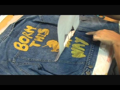 How to Make a Lady Gaga Born This Way Jacket - DIY