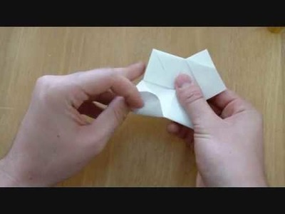 How to Make an Origami: Steamboat (traditional)
