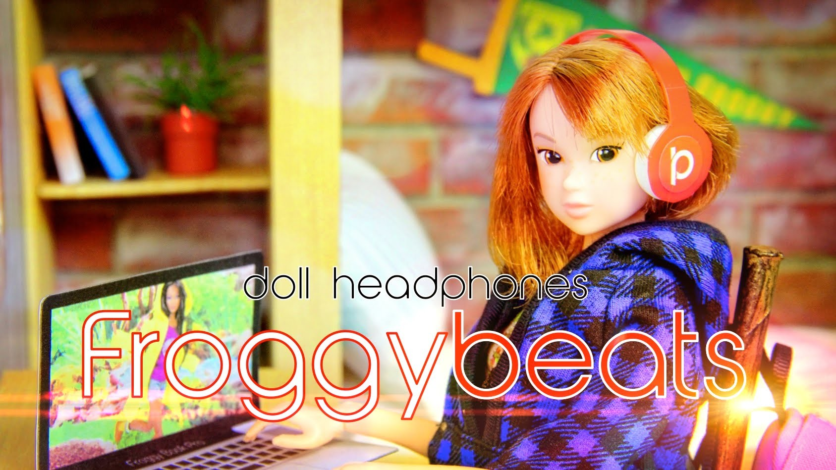 How to Make Doll Designer Headphones - Doll Crafts