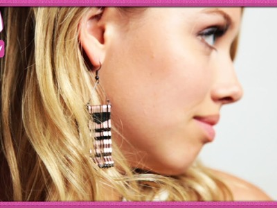 How To Make Fringe House Of Harlow Earrings - 2 DIY For Ep 32