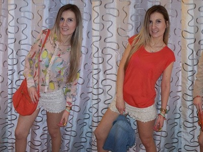 How to Style Crochet Shorts