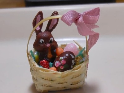 Karen Creates an Easter Basket in Miniature