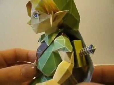 Link. Zelda Papercraft collection
