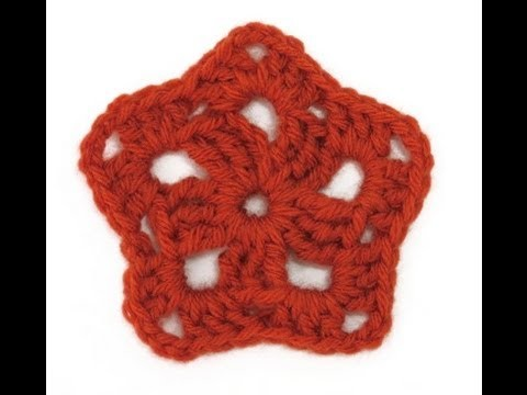 Motif of the Month March 2014 Starfish Granny