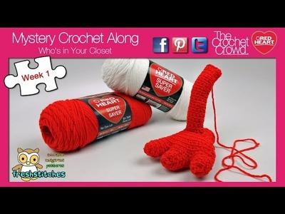 Mystery Crochet Along: Week 1