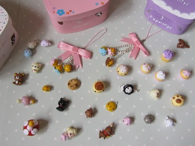 Polymer Clay Charm.Craft Update #12 - Cupcakes, Fairies, Painted Boxes & More!