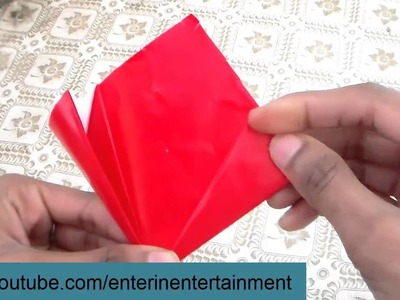 Red Flower - How to Papercraft (Origami)