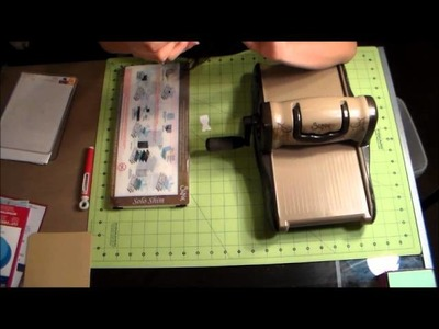 Sizzix Vintaj Big Kick Tutorial