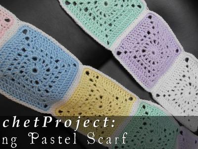 Spring Pastel Scarf { Crochet }