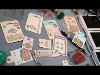 Stamping and rambling and tag tips