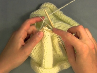 Switching to Double Pointed Needles from Circular Needles