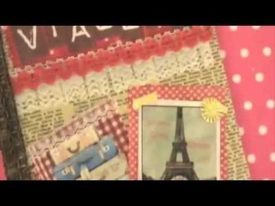 Travel Journal DIY Tutorial :: Como fazer um Livro de Viagens