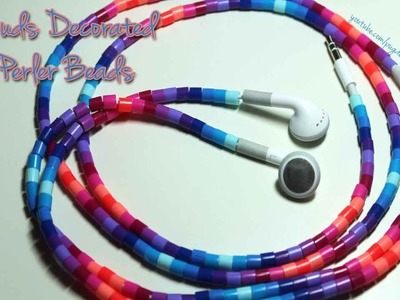 Tutorial: Decorating Earbuds with Perler Beads