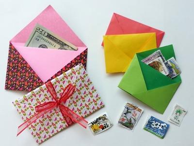 Tutorial: Origami Envelope - Sobre en origami