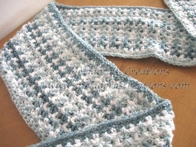 Birds of a Feather Scarf - Left Handed Crochet Tutorial