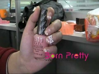 BornPrettyStore.com Nail Art Bowknot Pearl Beads Decoration.flv