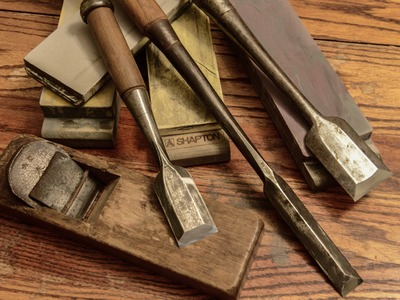 Chisel Restoration Time Lapse, Woodworking Rant