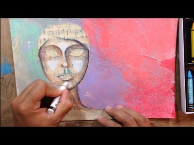 Creative Sunday: Art Journal Page Tutorial Make it hapen