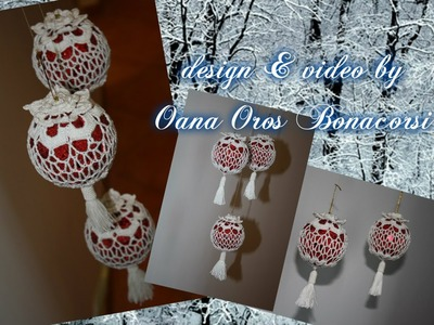 Crochet Christmas ball cover