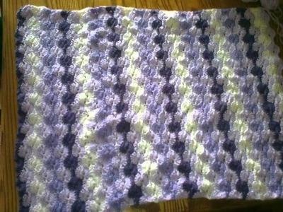 Crochet Couverture De Bebe