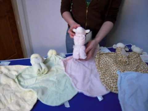 Cupcake Mini Baby Blankets