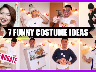 DIY: 7 Funny Costume Ideas! (Fast & Easy)