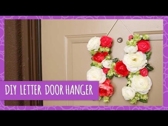 DIY Floral Door Hanger - HGTV Handmade