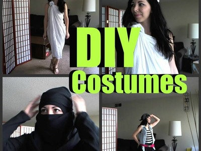 DIY Halloween Costumes !
