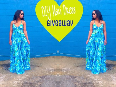 DIY: How to Make a Maxi Dress (Closed)