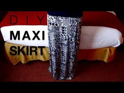 DIY Maxi Skirt (from Maxi Dress) |