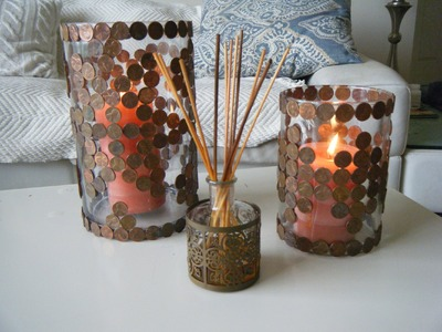 DIY PENNY Mosaic DECORATION Ideas