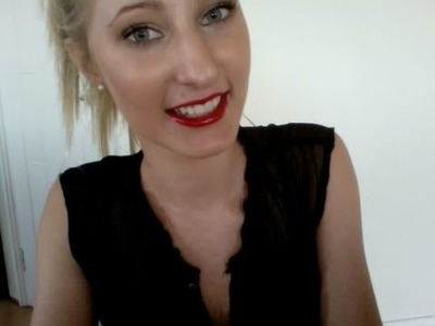 DIY Red Lipstain