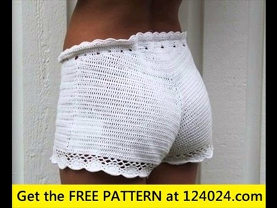 Easy crochet shorts pattern