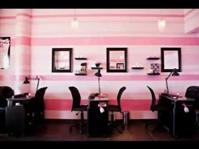 Easy DIY beauty salon decorations ideas
