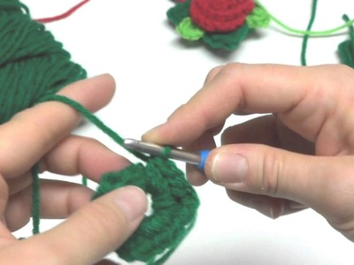 Episode 135: How To Crochet A Christmas Rose Ornament