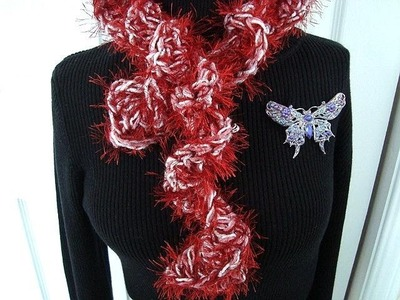 HOW TO CROCHET A BOA SCARF