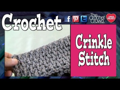 How To Crochet A Crinkle Stitch