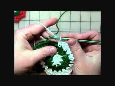 How to Crochet a Pinwheel Coaster Part Two