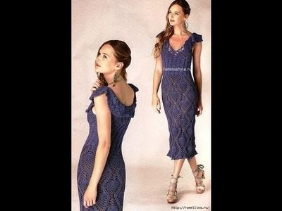 How to crochet dress free pattern