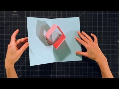How to Make a Box Pop-Up Card | Pop-Up Cards